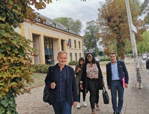 Avec le comité de pilotage Égalité & diversité de l' Université de Lorraine