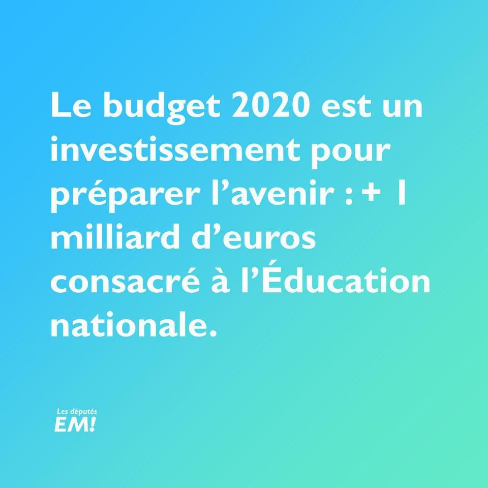 budget-2020-éducation-nationale
