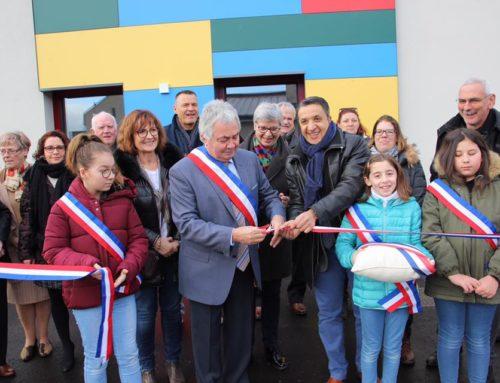 Inauguration du centre périscolaire de Semécourt