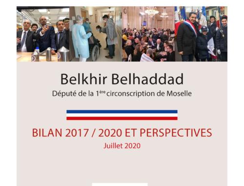 Bilan 2017-2020 et perspectives