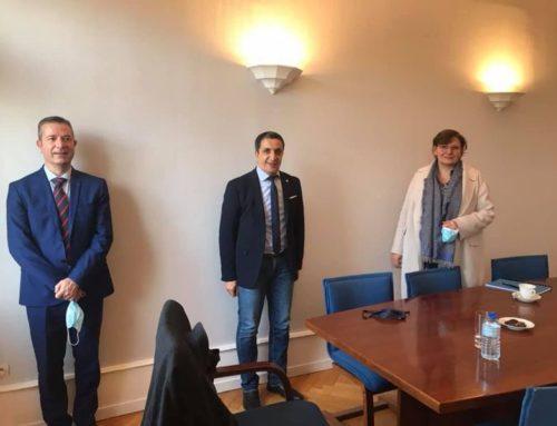 Rencontre avec la directrice générale des douanes dans le cadre des transferts des missions fiscales