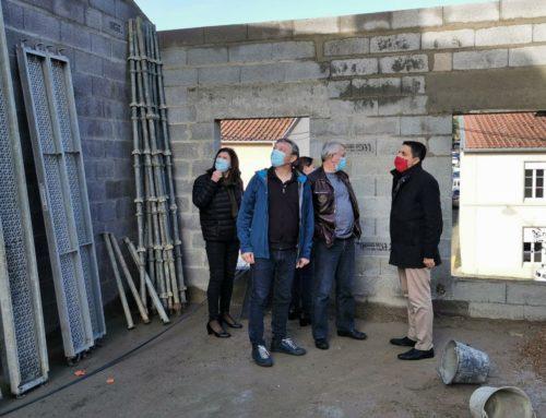A Marange-Silvange et à Pierrevillers, sur d'importants chantiers publics