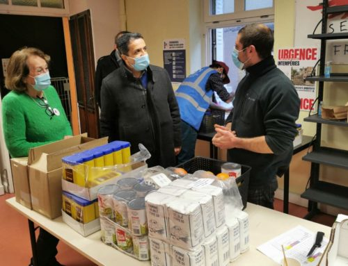 Auprès des bénévoles du Secours populaire de Moselle, « Ensemble, faisons vivre la solidarité ! »