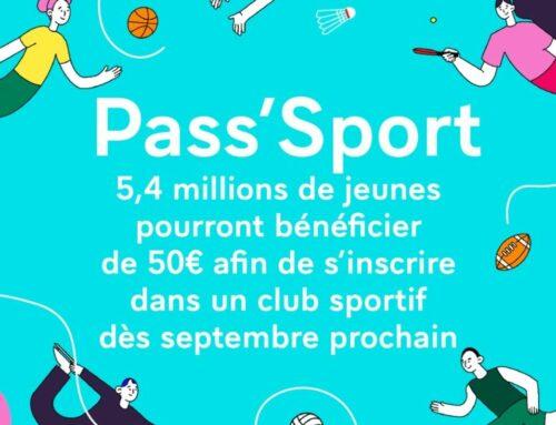 """""""Pass Metz Loisirs"""" inspire """"Pass Sport"""""""