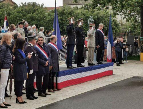 A la traditionnelle cérémonie du 14 juillet à Metz