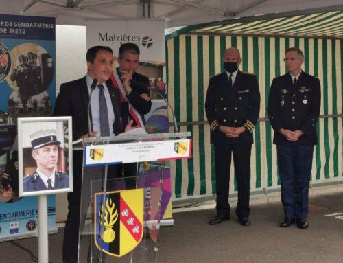 Le baptême inaugural de la Gendarmerie Arnaud BELTRAME