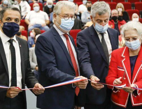 Inauguration du bâtiment multifonctions à Saint-Privat-la-Montagne